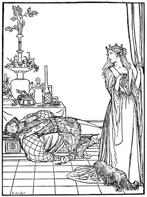 The Princess and the Soldier, illustration by R. Anning Bell, 1912