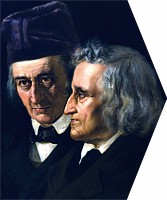Wilhelm and Jacob Grimm